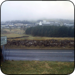 Princetown - prison in background 2010